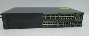 Lot-of-2-Cisco-Catalyst-24-Port-Ethernet-Switches-2960-WS-C2960-24TC-L-V02