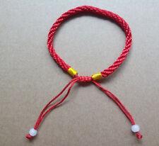 Red String HAMSA KABALLAH Against Evil Eye Mens Womens Bracelet ADJUSTABLE