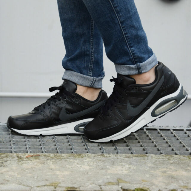 NIKE AIR MAX COMMAND LEATHER Trainers Casual Fashion - Black - Various sizes