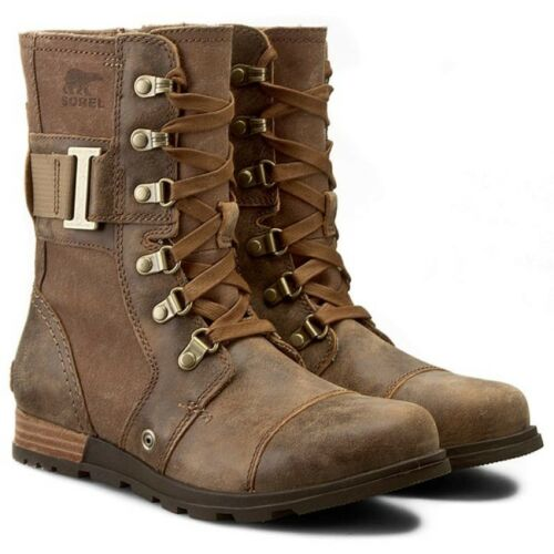 Sorel Major Carly Nutmeg Flax Brown Winter Snow Boot Womens Size 6.5