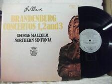 BACH Brandenburg Concertos 1,2 & 3 MALCOLM ENIGMA WEA STEREO 1977 GERMANY