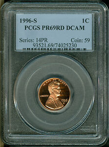 1996-S-LINCOLN-CENT-PCGS-PR69-DCAM-PROOF