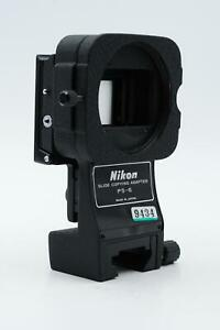 Nikon-ps-6-Slide-Copying-Adapter-fuer-pb-6-Faltenbalg-434