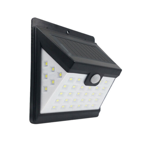Applique murale 2PCS Lampe de cour à énergie solaire de haute qualité étanche