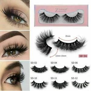 3D-Mink-Eyelashes-Cruelty-Free-Lashes-Handmade-Eyelashes-False-Lashes-Makeup-NEW