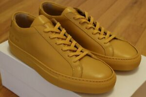 Common Projects Woman Yellow Achilles