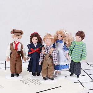 1-12-Dollhouse-miniature-porcelain-dolls-victorian-figure-dollhouse-collectionXJ