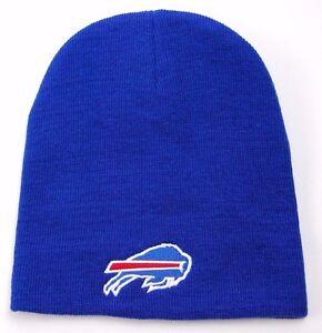 ede8ed05f71a20 Buffalo Bills NFL Team Apparel Cuffless Knit Winter Hat/Beanie/Toque ...