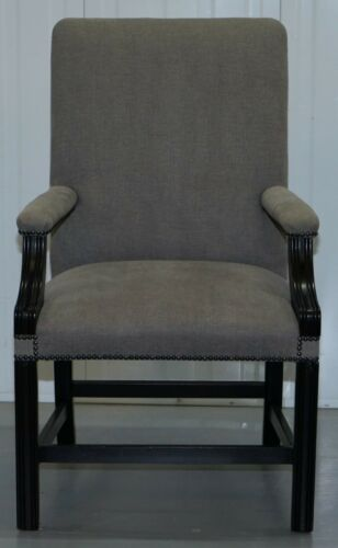 10 GEORGE SMITH RRP £19500 GAINSBOROUGH CARVER DINING CHAIRS COLEFAX & FOWLER