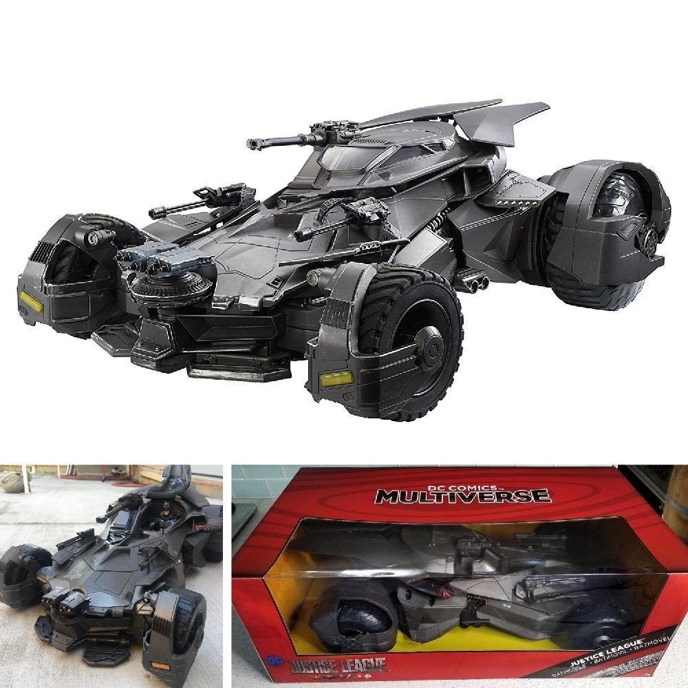 DC Comics Multiverse Justice League Batmobile Vehicle 6