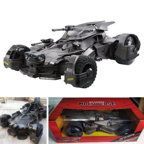 """DC Comics Multiverse Justice League Batmobile Vehicle 6/"""" Premium Collection New"""