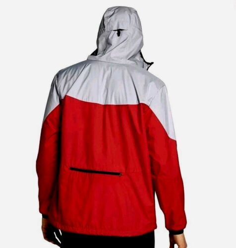 917809 013 Full Zip packable Jacket Windrunner Nike 91208313894 grey Large mens Red Hoody BFXTIqE