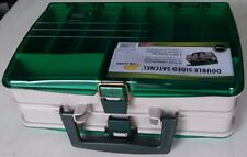 NEW PLANO 1120 Double Sided Satchel Tackle Fishing Box/Organizer for parts/craft
