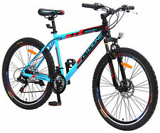 "29"" GT ALLUMINIO MTB MOUNTAIN BIKE, 21, Shimano DISC BRAKE, NP 479,90 € bicicletta NUOVO-TKR"