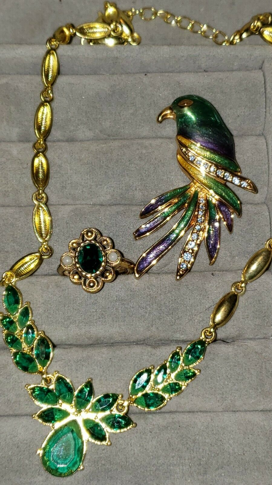 Vintage  Costume Jewelry Lot With Arnold Scaasi C… - image 3