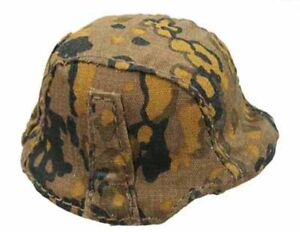 WWII-German-LAH-Alfred-Helmet-w-Camo-Cover-1-6-Scale-Dragon-Action-Figures