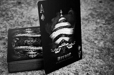 ARCANE BLACK BICYCLE PLAYING CARDS BY ELLUSIONIST