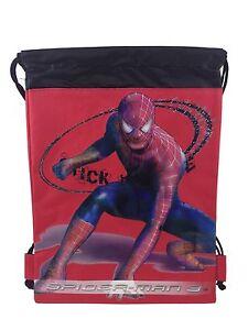Spider Man drawstring backpack cinch bag