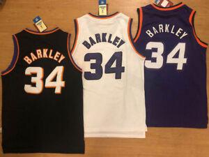 NWT-34-Charles-Barkley-MEN-039-S-Phoenix-Suns-THROWBACK-Jersey-Size-S-2XL