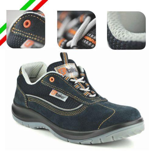 T-TAKE SCARPE ANTINFORTUNISTICHE DPI calzatura titanio s1p src
