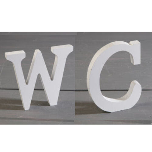 Large Wooden Letter Alphabet Wall Hanging Wedding Birthday Party Home Decoration