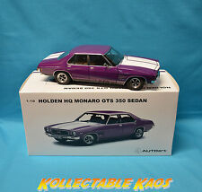 1:18 Biante - 1973 Holden HQ Monaro GTS350 Sedan - Purr Pull LTD ED. 1150  NEW