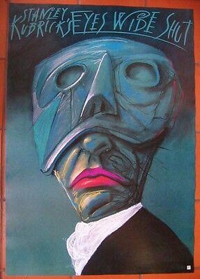 Eyes Wide Shut - Stanley Kubrick - Polish Poster - Zebrowski
