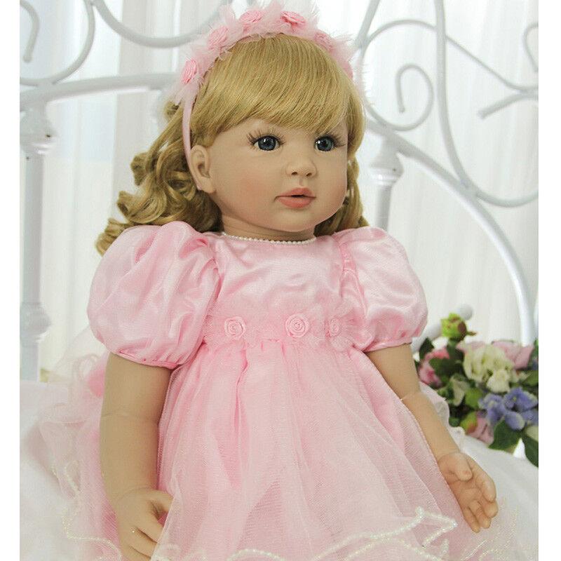 22  cutely Niño Reborn Princesa Niña Bebé Muñeco recién nacido realista Juguetes Regalos
