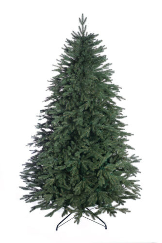 Alpine Spruce Christmas Tree Luxury Traditional Forest Green 2 sizes