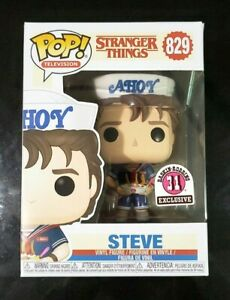 Stranger-Things-STEVE-Scoops-Ahoy-Baskin-Robbins-829-Funko-POP-w-soft-protector