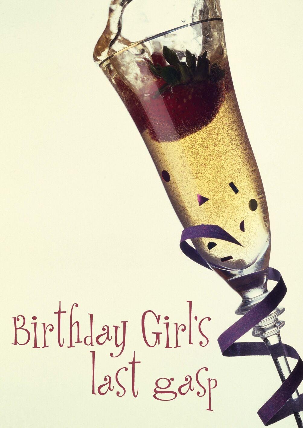 Birthday Girl's Last Gasp - 6, 8, 10, 12  player games - ALL GIRL