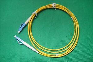 Single-Mode-Simplex-Fiber-Jumper-Cable-LC-LC-SMF-28e-SM-Fiber-OFNR-5ft-1-5m-New