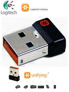 2af50ee6db8 Logitech Unifying Receiver 1 to 6 Devices USB Wireless Keyboard ...