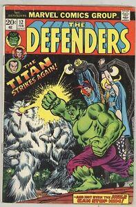 Defenders-12-February-1974-VG