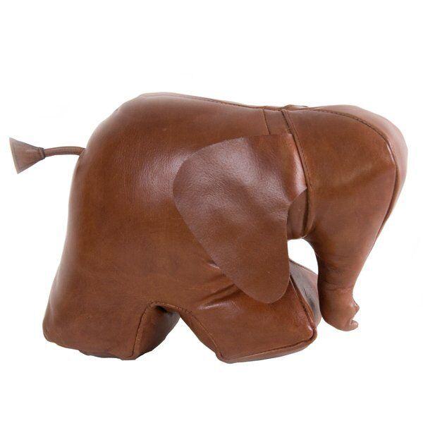 Authentic Models Türstopper Elefant Leder