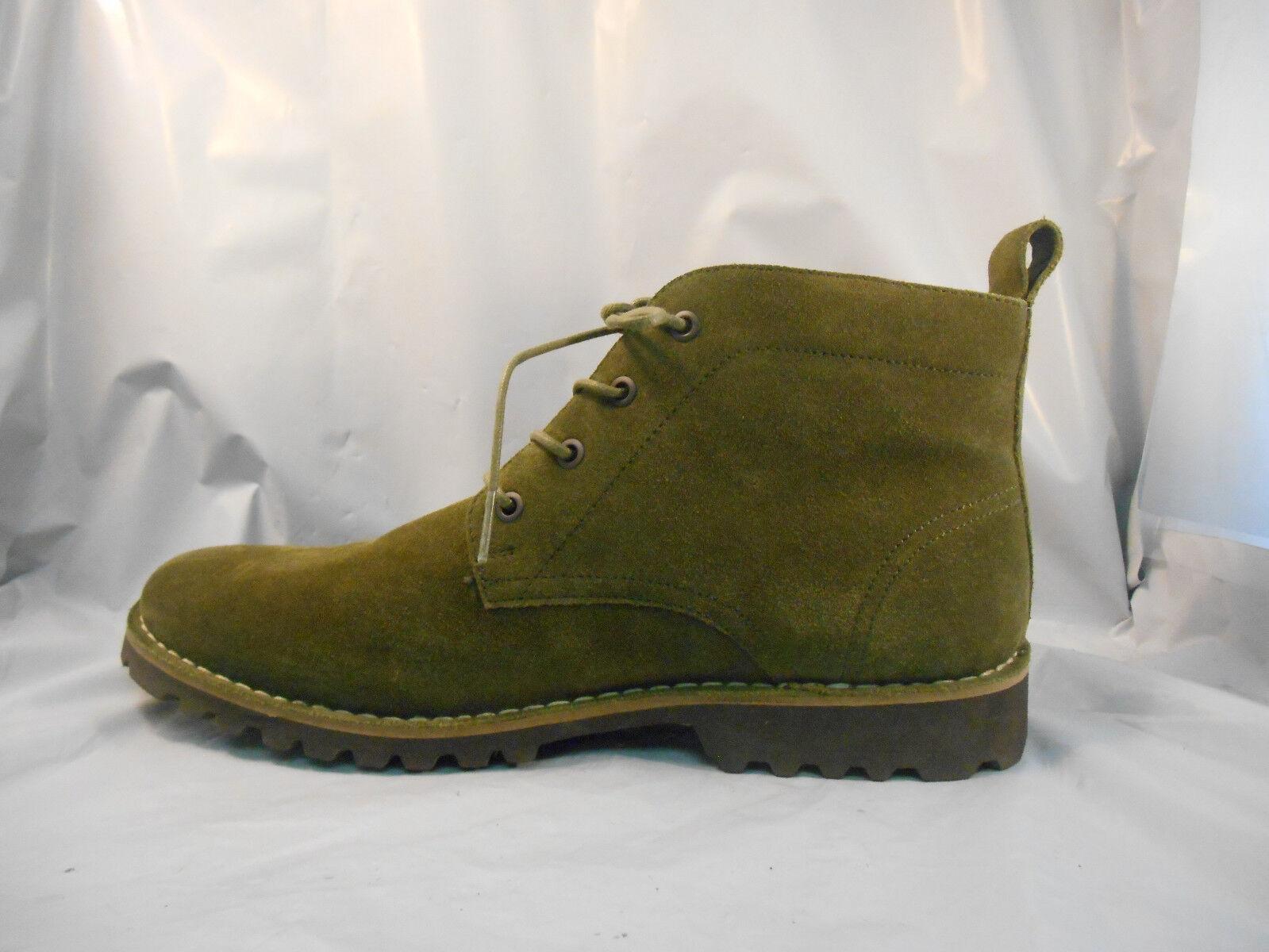 Kenneth Stiefel Cole New York Lug-Xury Olive Green Suede Ankle Stiefel Kenneth  Uomo 10.5 M aaec24