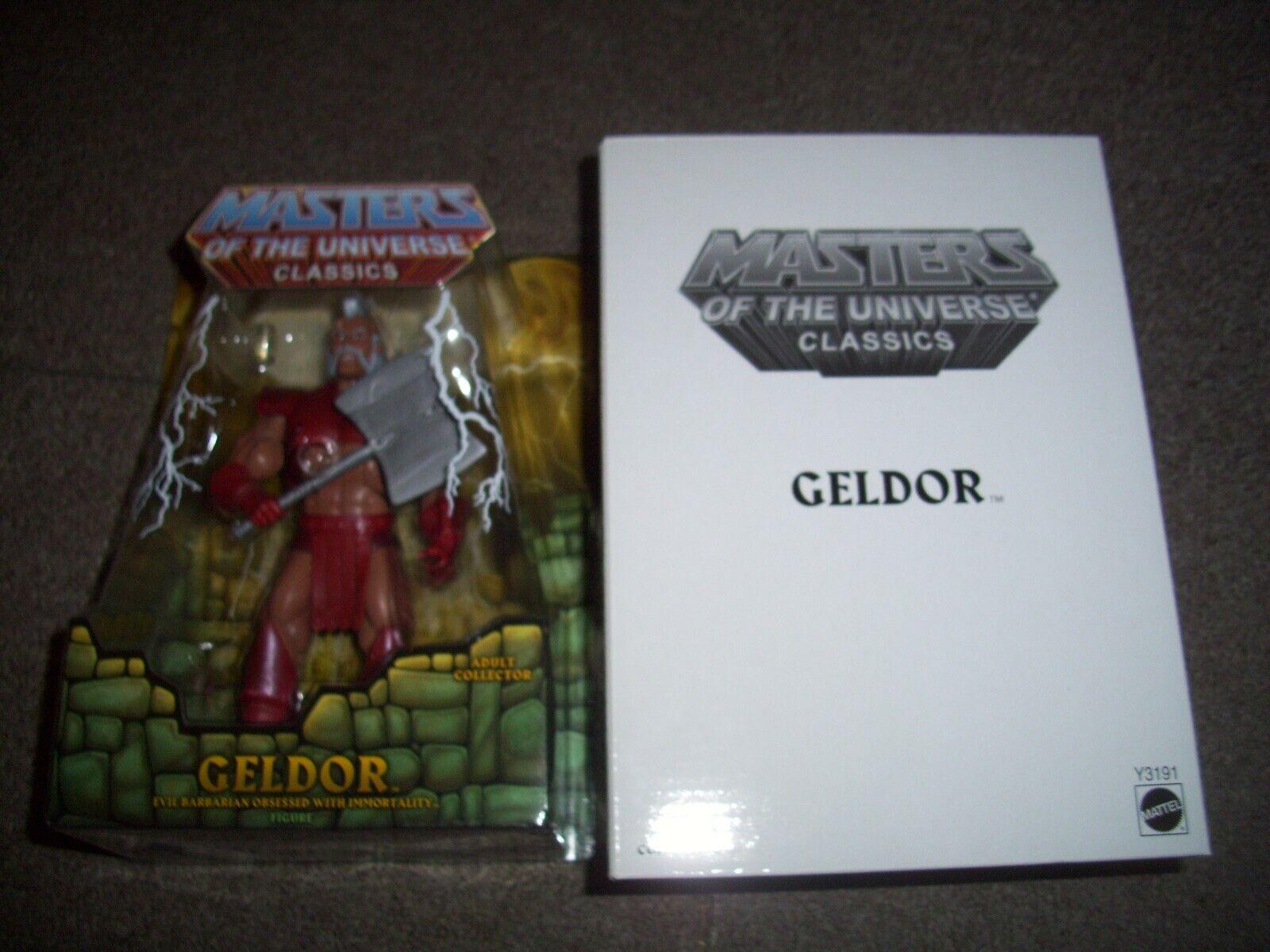 Masters del universo clásicos Geldor figura