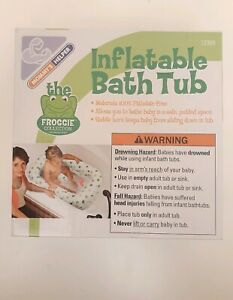 Inflatable-Baby-Infant-Bath-Tub-Safety-Seat-Air-Bathing-Newborn-Shower-Toddler