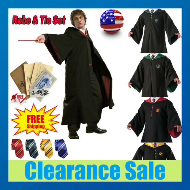 8 Styles Anime Cosplay Costume Adulte Unisexe Cardigan Sweater Harry Potter Magic