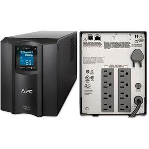 Apc Smart Ups 1500va 120v 900w Battery Backup Power Supply