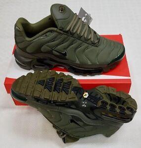 Image is loading Nike-Air-Max-Plus-TN-Khaki-Green-Size- 7e82197c8b03