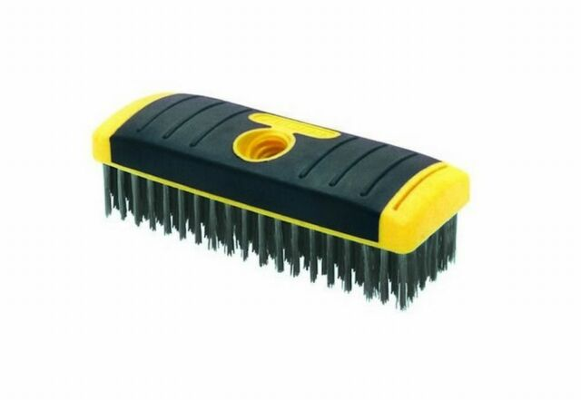W x 10.25 in Allway  1-1//16 in L Stainless Steel  Wire Brush
