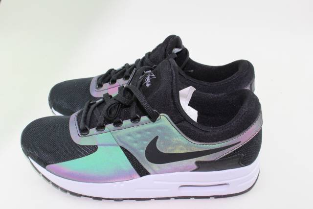 AIR MAX ZERO SE YOUTH SZ 4.5 same as woman 6.0 NEW BLACK WOLF GREY RUNNING STYLE