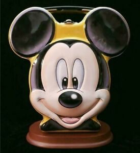 Walt Disney Mickey Mouse Head Tin Lunch Box Collectable GREAT CONDITION!!!