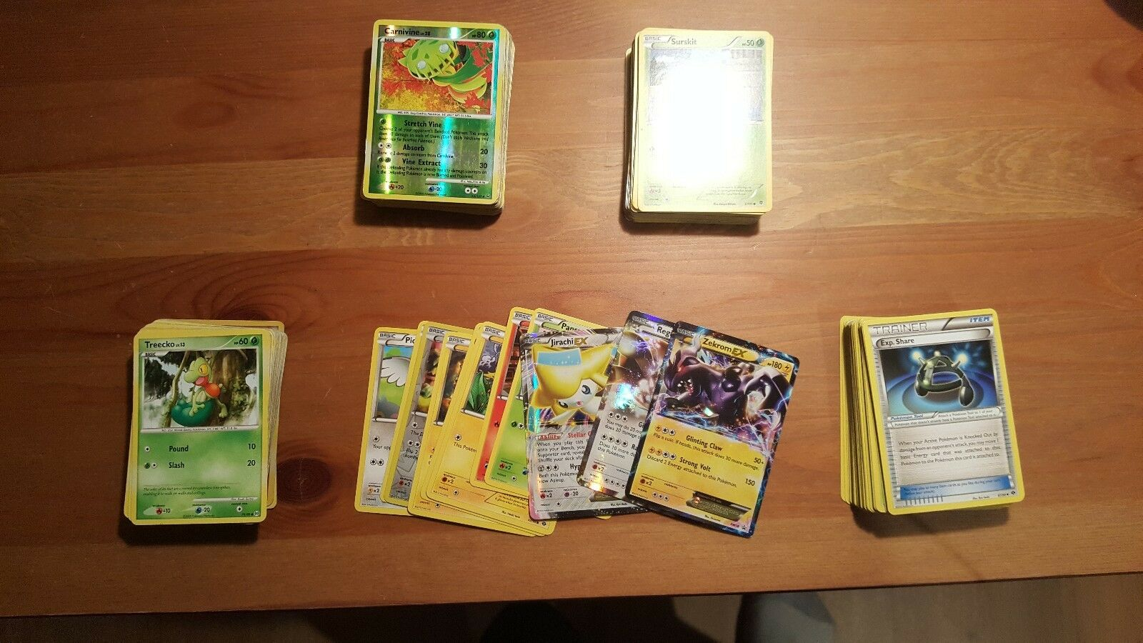 Pokemon Card lot 211 cards (50c card)