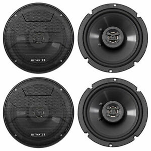 4-Hifonics-ZS65CXS-6-5-034-1200-Watt-Shallow-Mount-Car-Stereo-Speakers