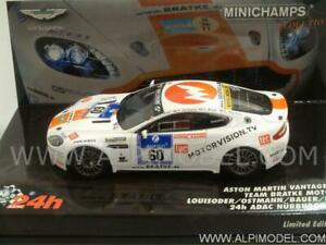 Aston Martin Vantage V8 Gt4 Nurburgring 2010 Loui 1:43 Minichamps 437101360