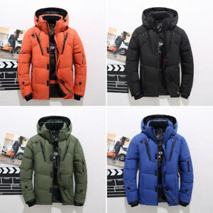 Men-Winter-Warm-Duck-Down-Jacket-Ski-Jacket-Snow-Thick-Hooded-Puffer-Coat-Parka
