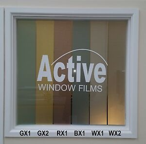 Vinyl frosted window film