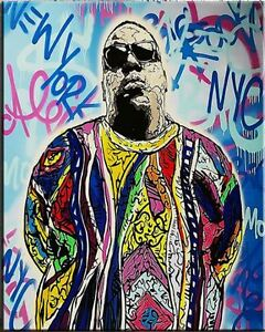 Alec-Monopoly-Banksy-Print-on-Canvas-Graffiti-art-Decor-Notorious-BIG-28x36-034